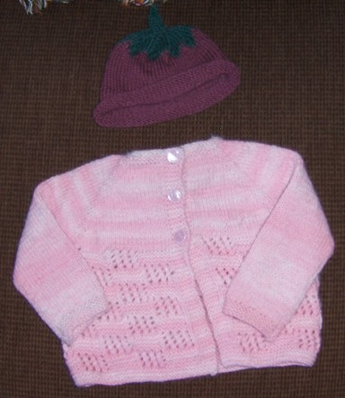 Pink Baby Sweater sm