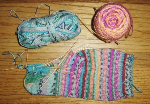 Stripe Sock sm