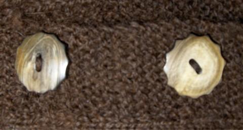 Handspun Brown Sweater Buttons sm